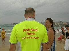 Life Guard in Bondi Beach